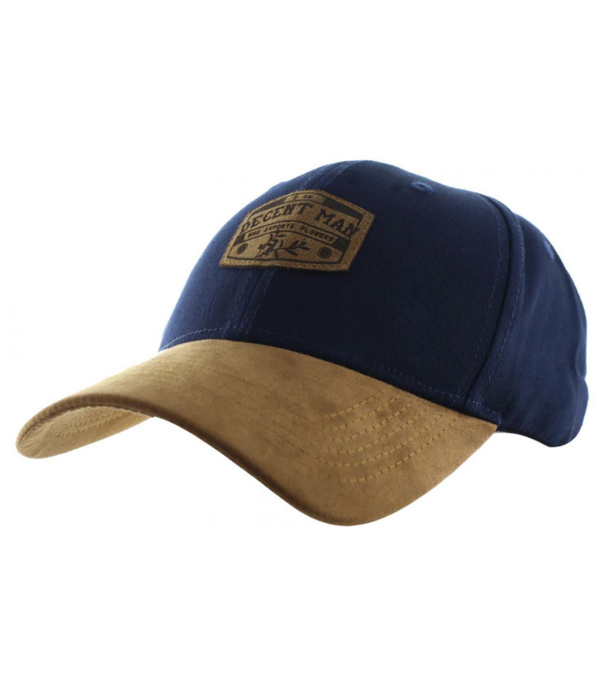 casquette decent man bleu
