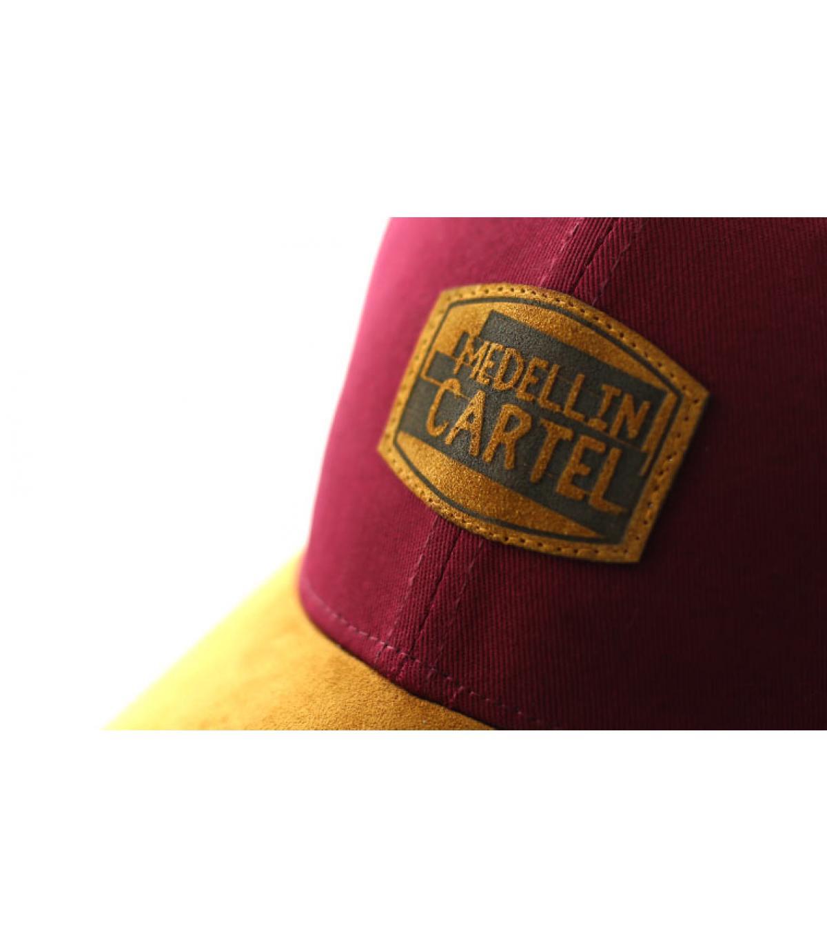 Détails Curve Medellin Cartel burgundy suede - image 3