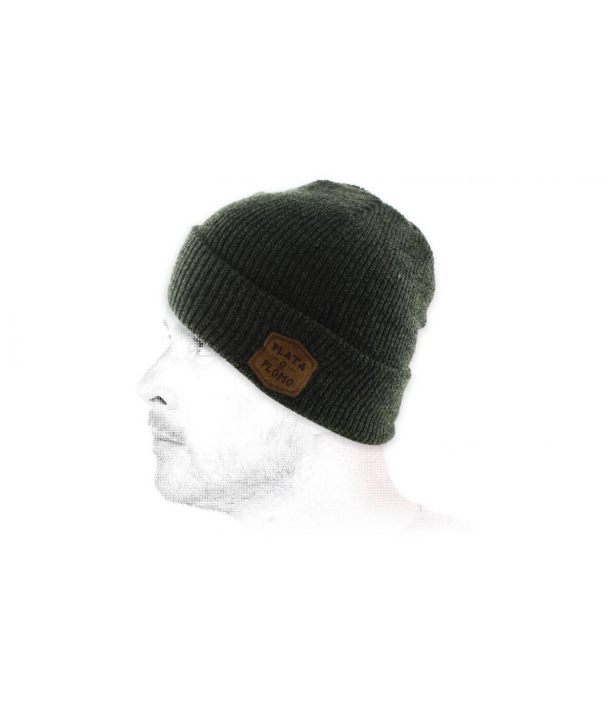 bonnet plata o plomo vert