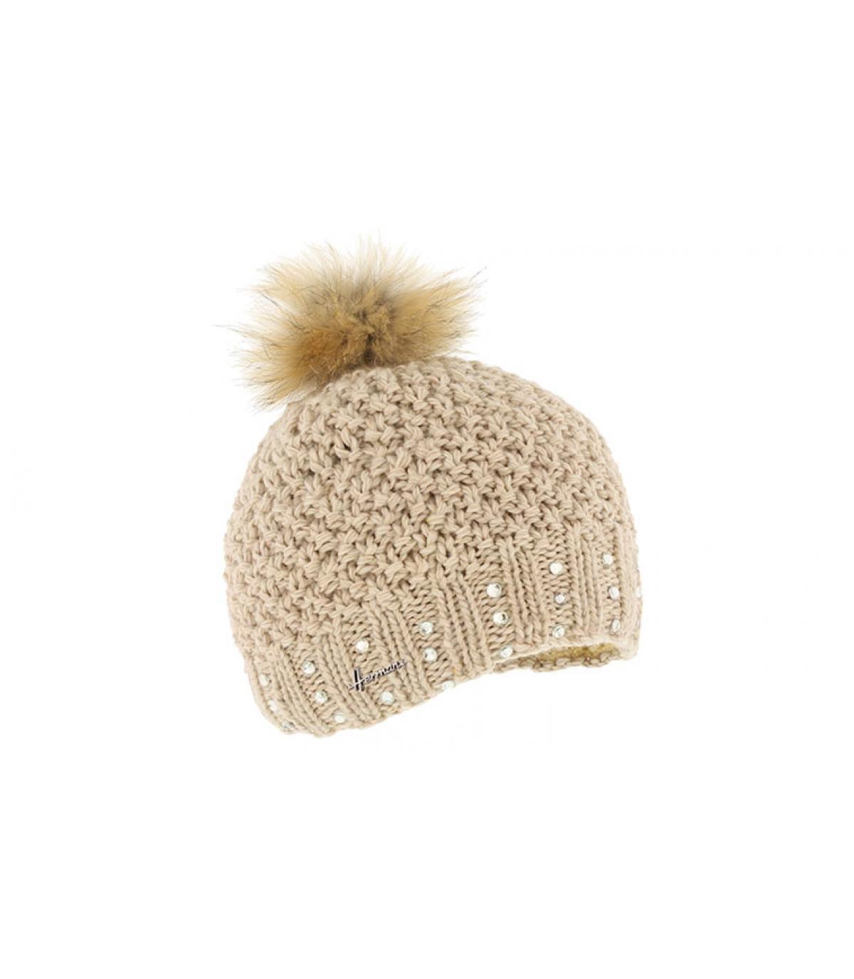 5d8b6768a3a Bonnet pompon fourrure - Bonnets avec pompon en fourrure - Headict