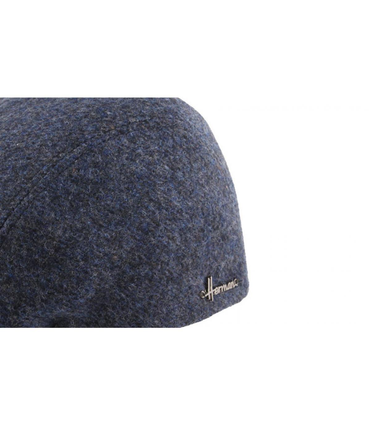 Détails Hill wool EF blue - image 3