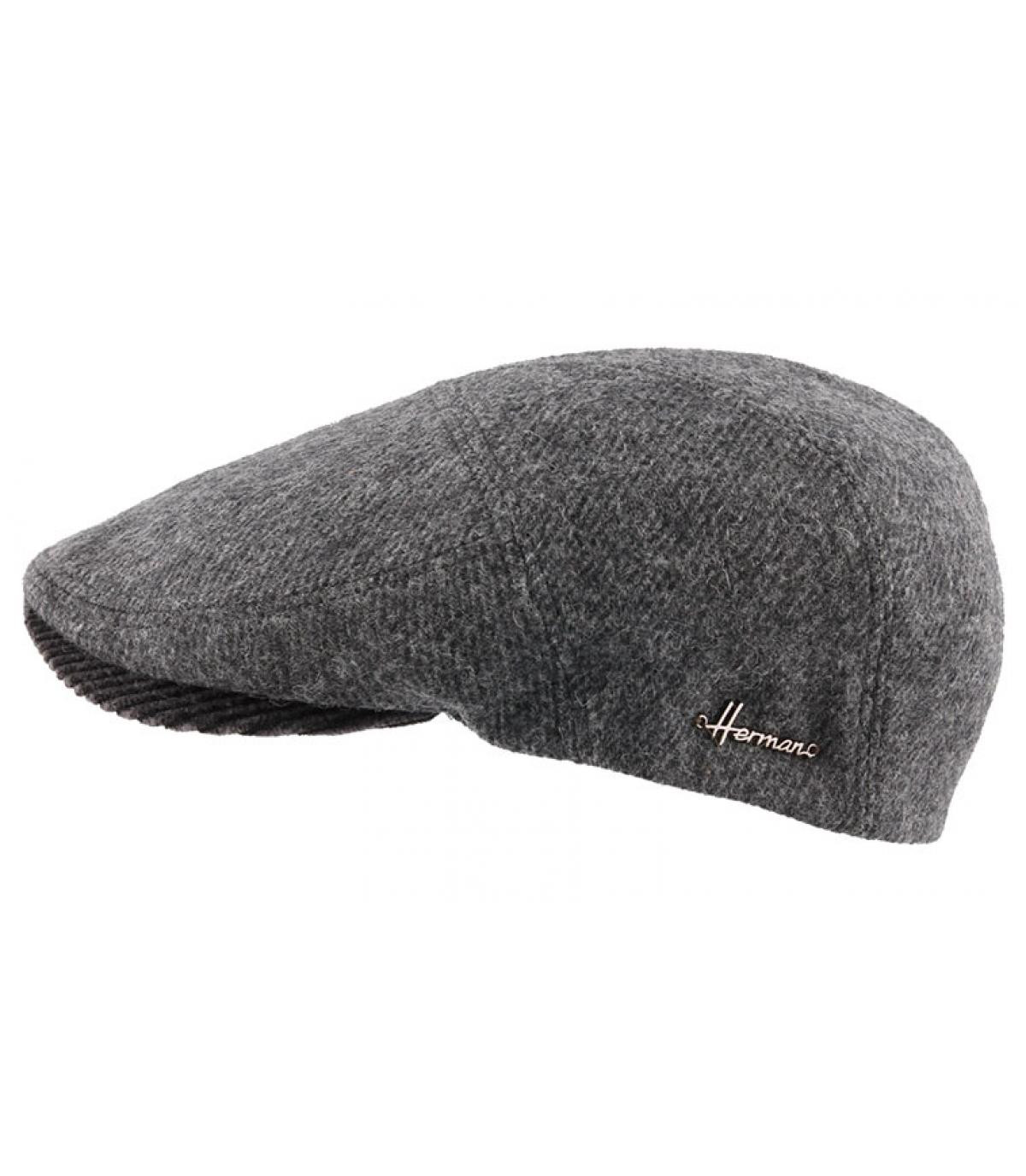 béret laine gris