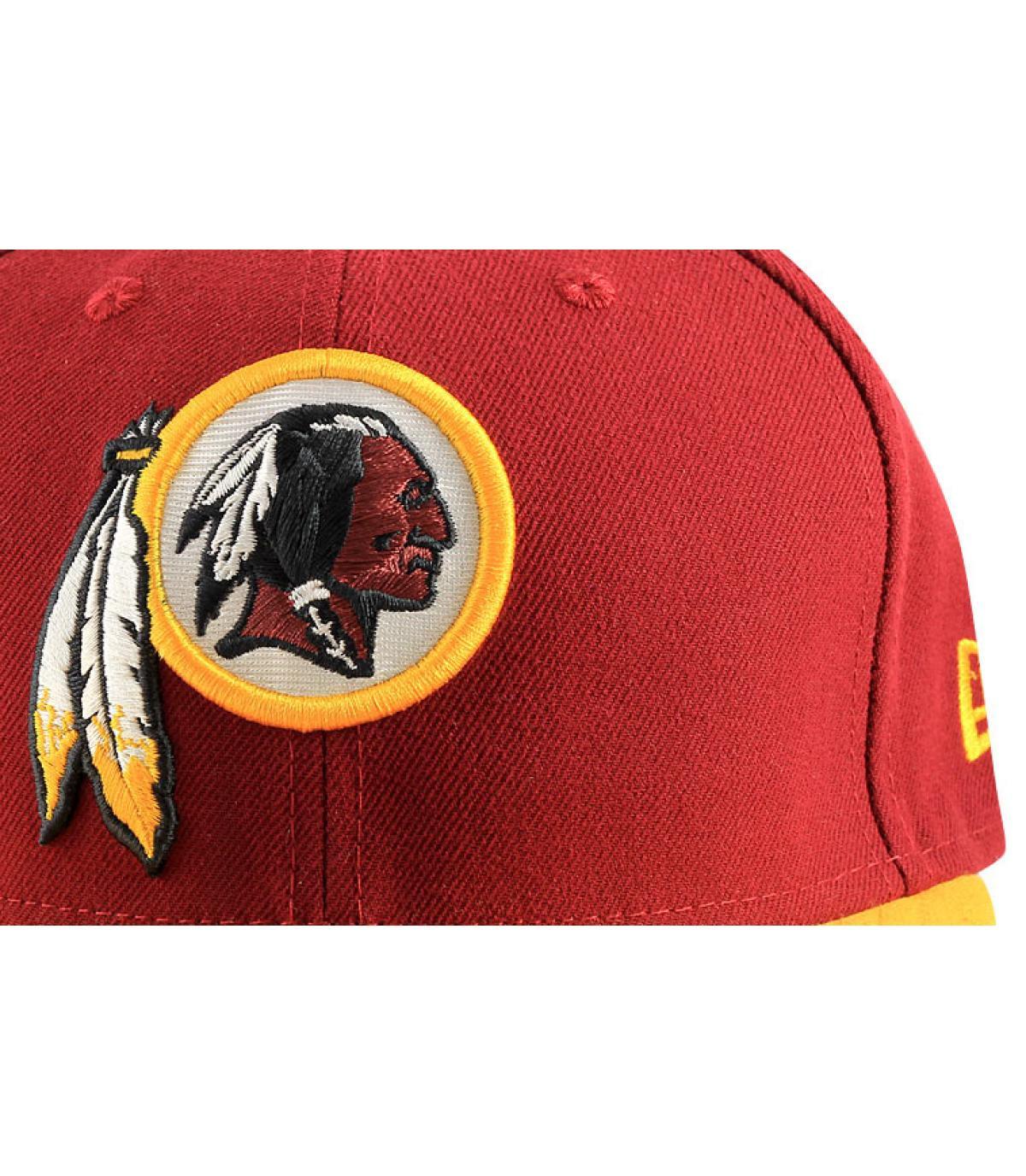 Détails Casquette Redskins 59fifty rouge - image 2