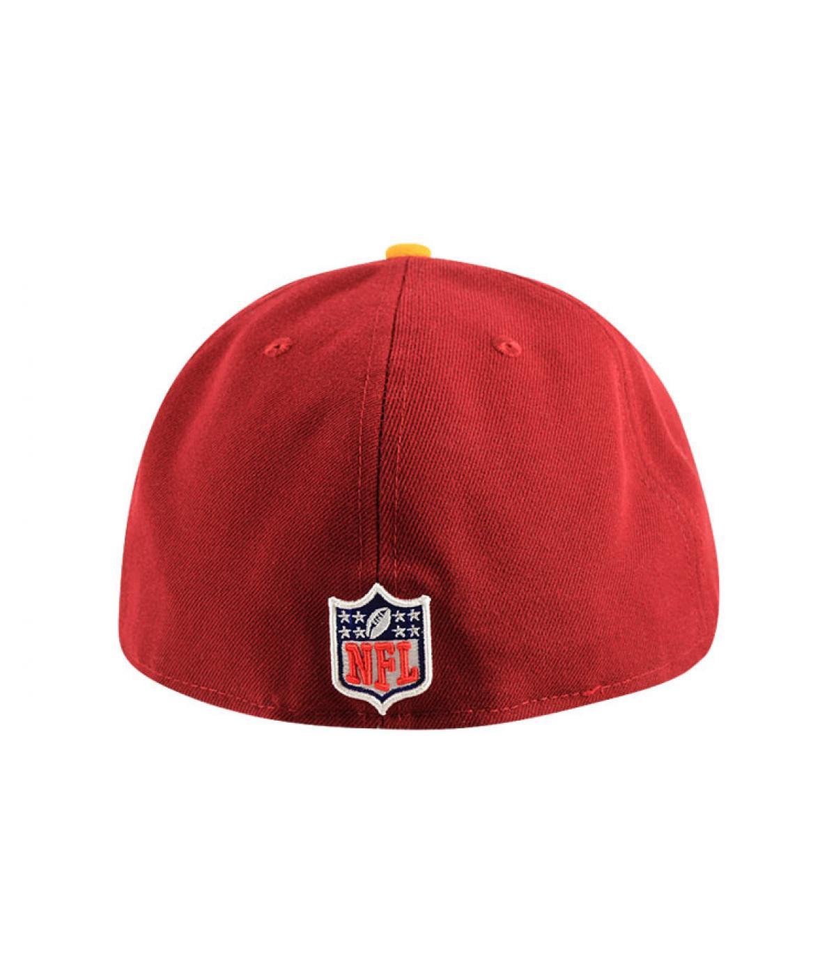 Détails Casquette Redskins 59fifty rouge - image 5