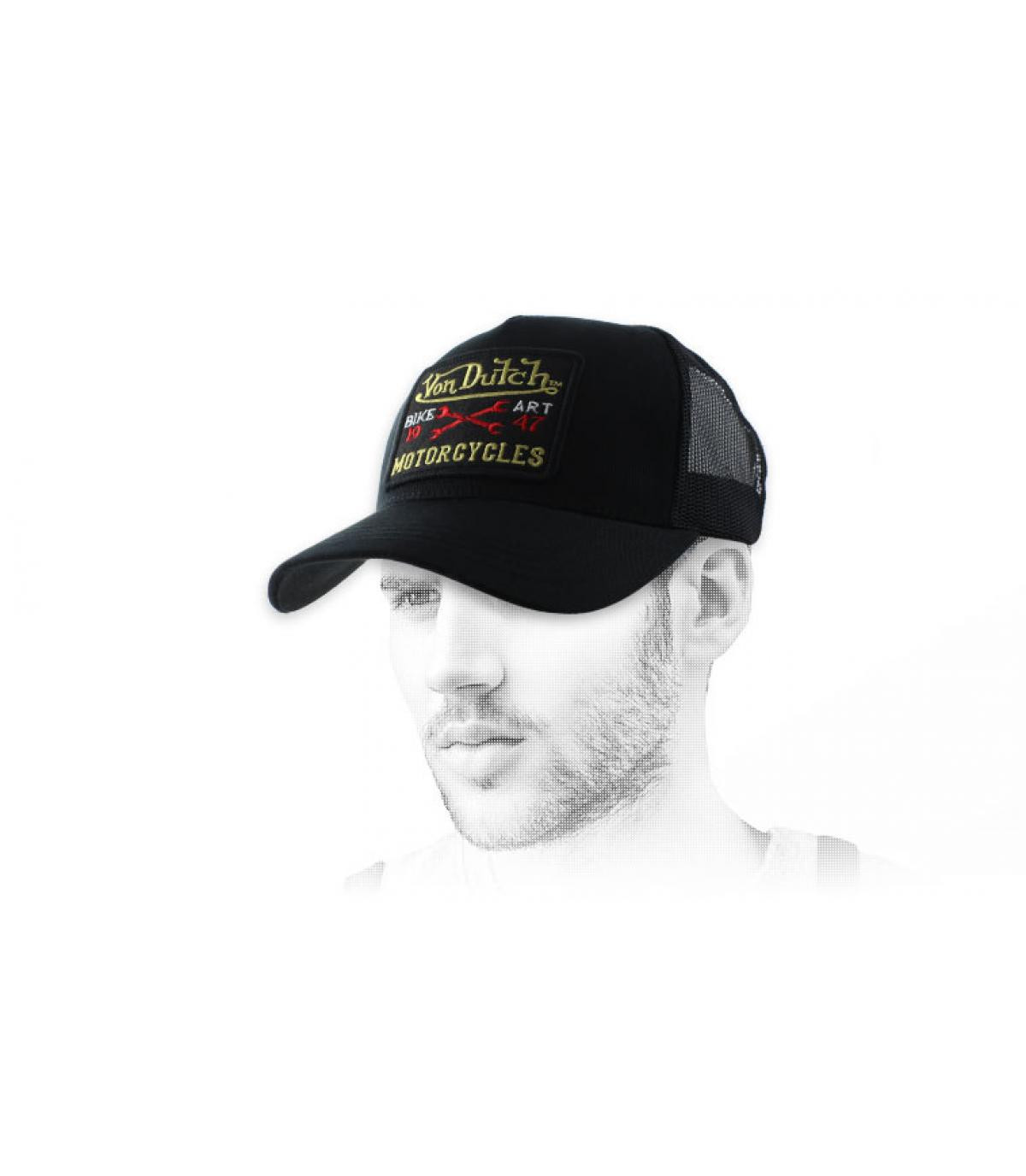 trucker Von Dutch noir
