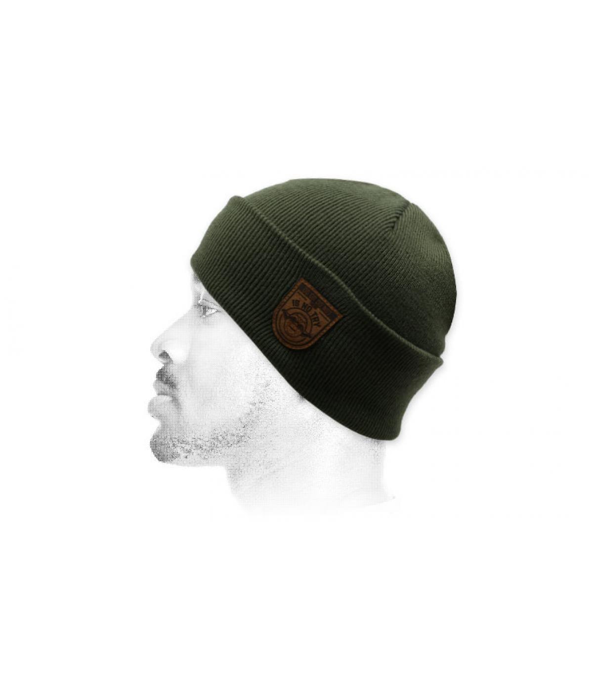 bonnet Not Try vert