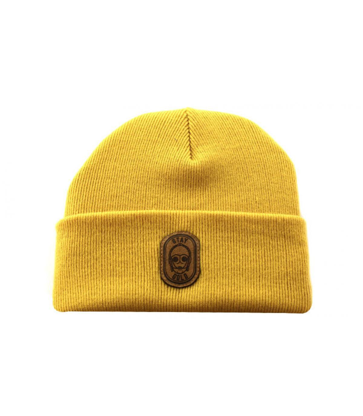 Détails Bonnet Stay Gold mustard - image 2