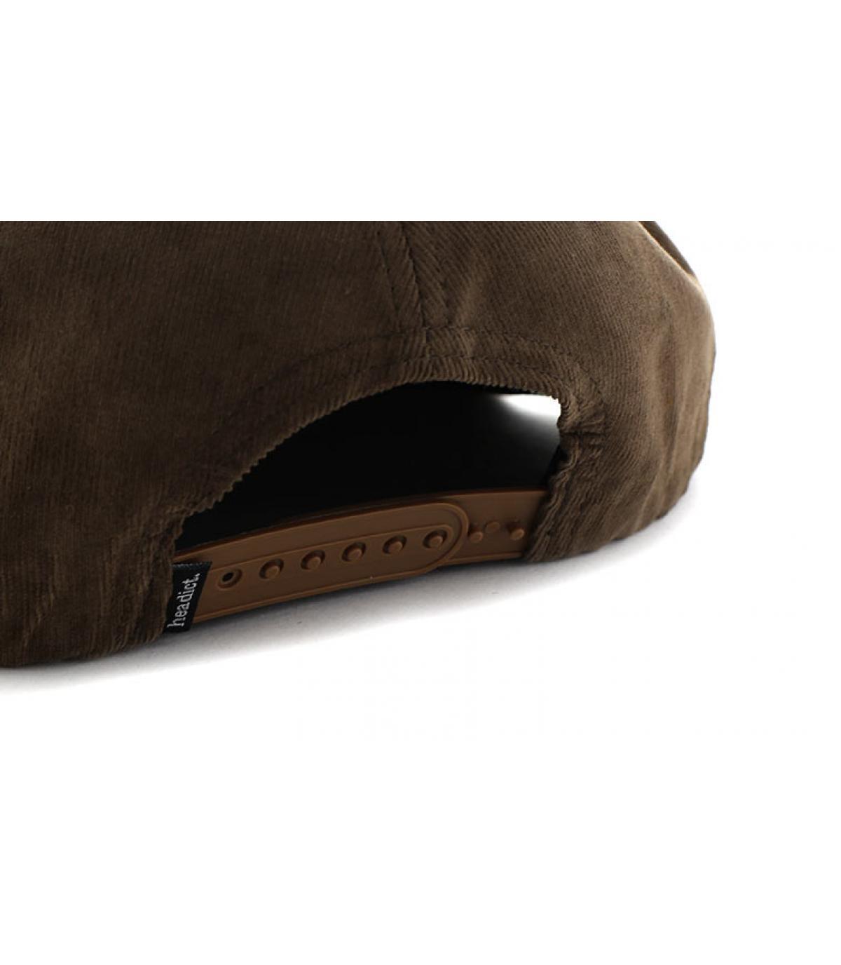 Détails Snapback Aaaargh brown cork - image 5