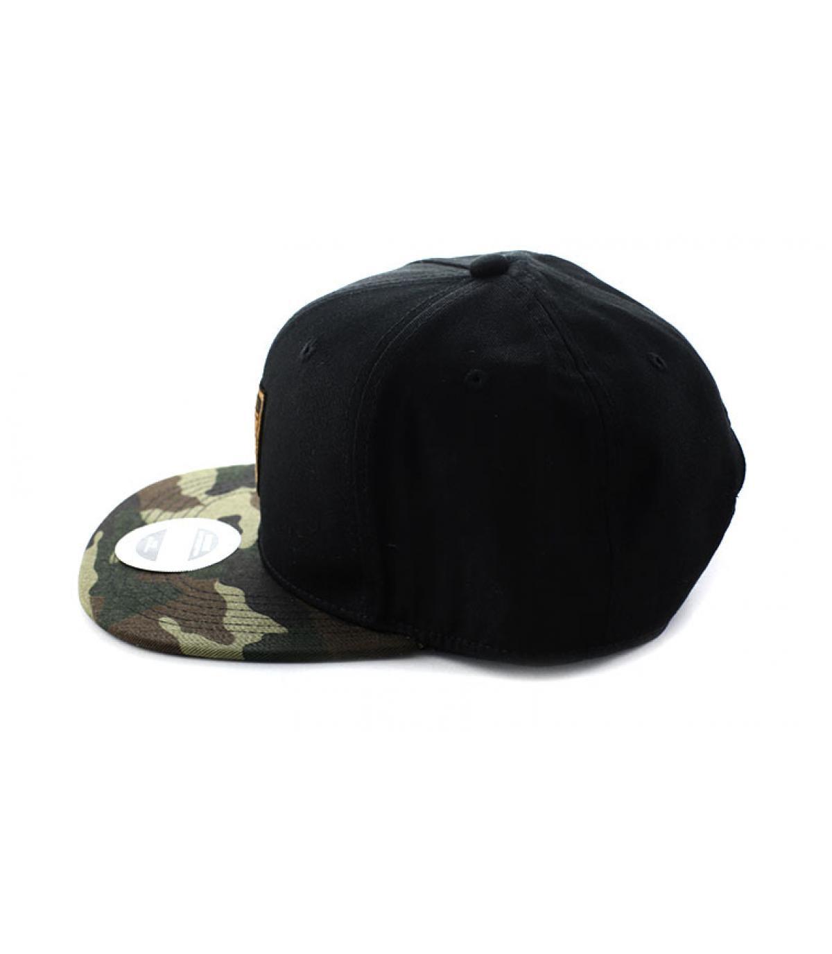 Détails Snapback Do Or Do Not black camo - image 4