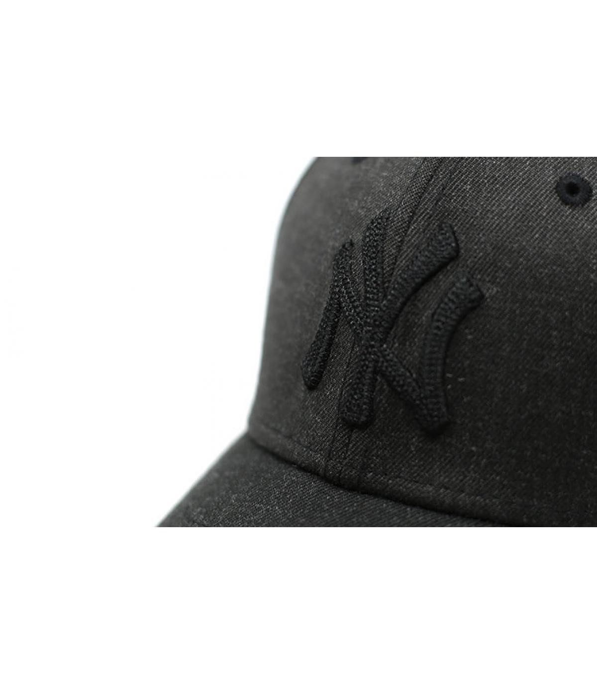 Détails Casquette MLB Heather 39Thirty NY black - image 3