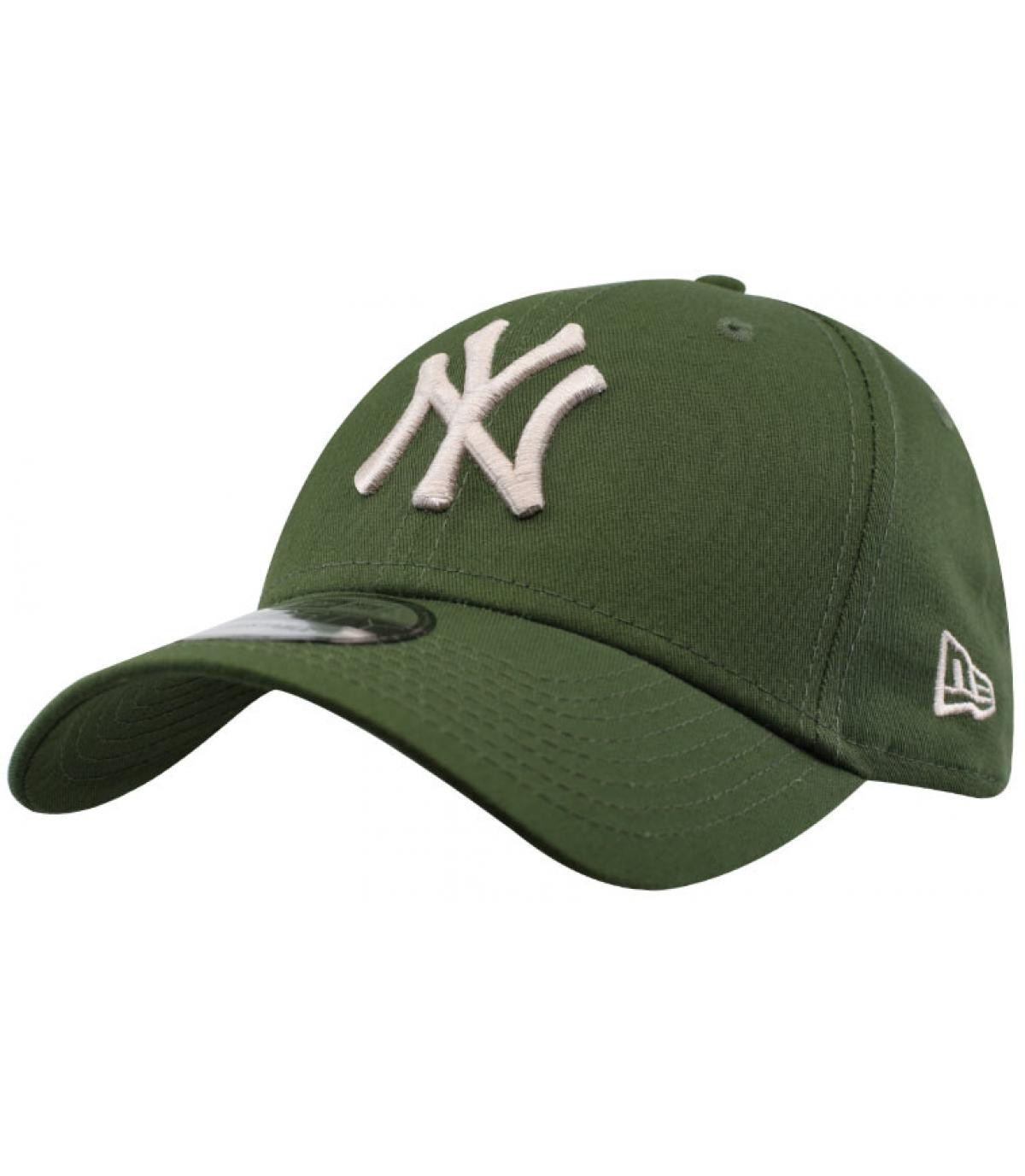 Détails CasquetteLeague Ess 9Forty NY rifle green stone - image 2