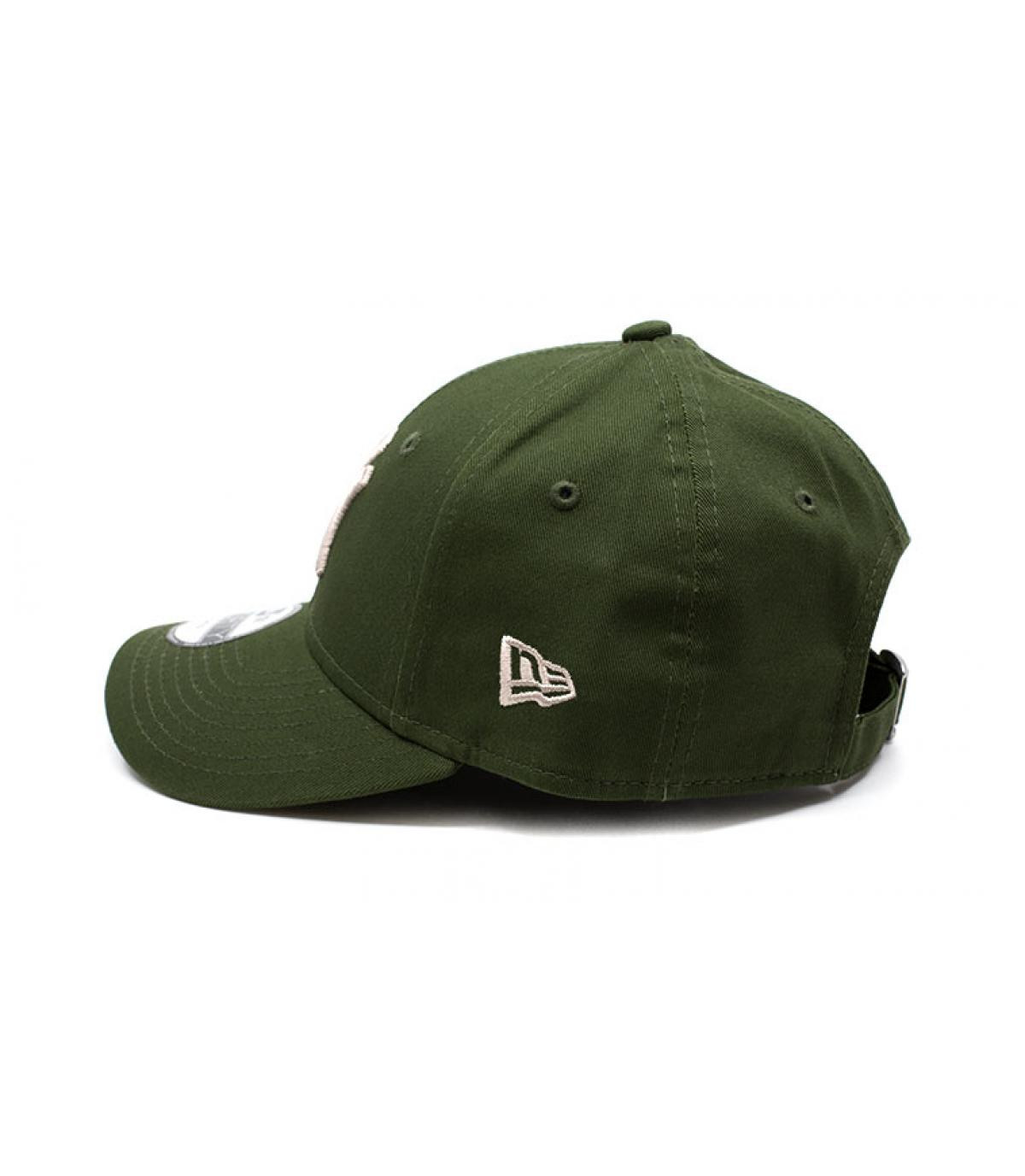 Détails CasquetteLeague Ess 9Forty NY rifle green stone - image 4