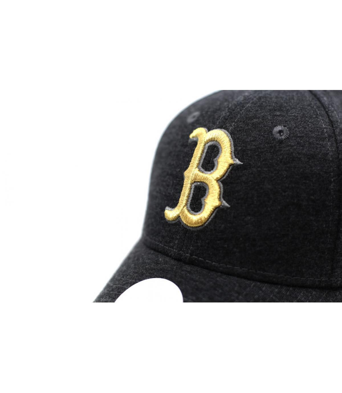 Détails Casquette Wmns Ess Jersey 9Forty Boston graphite gold - image 3