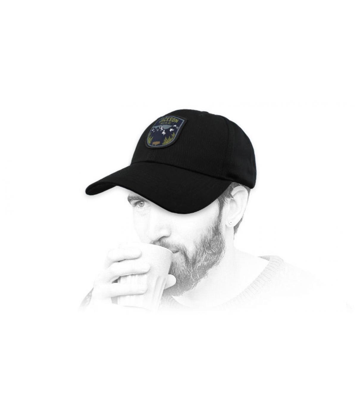 casquette Jackson Hole noir