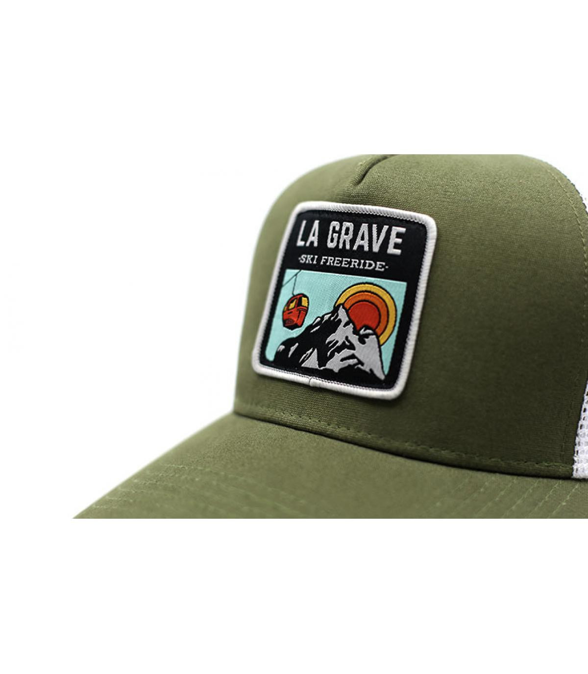 Détails Trucker La Grave olive - image 3