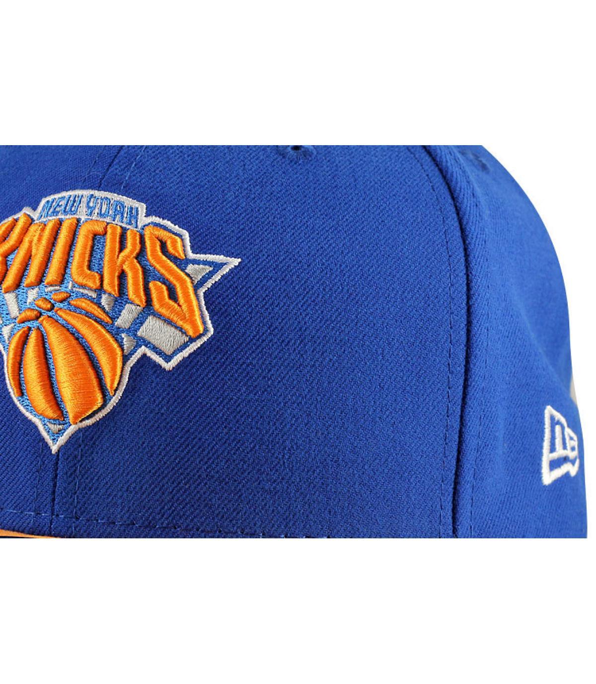 Détails Casquette Knicks 59fifty bleue - image 2