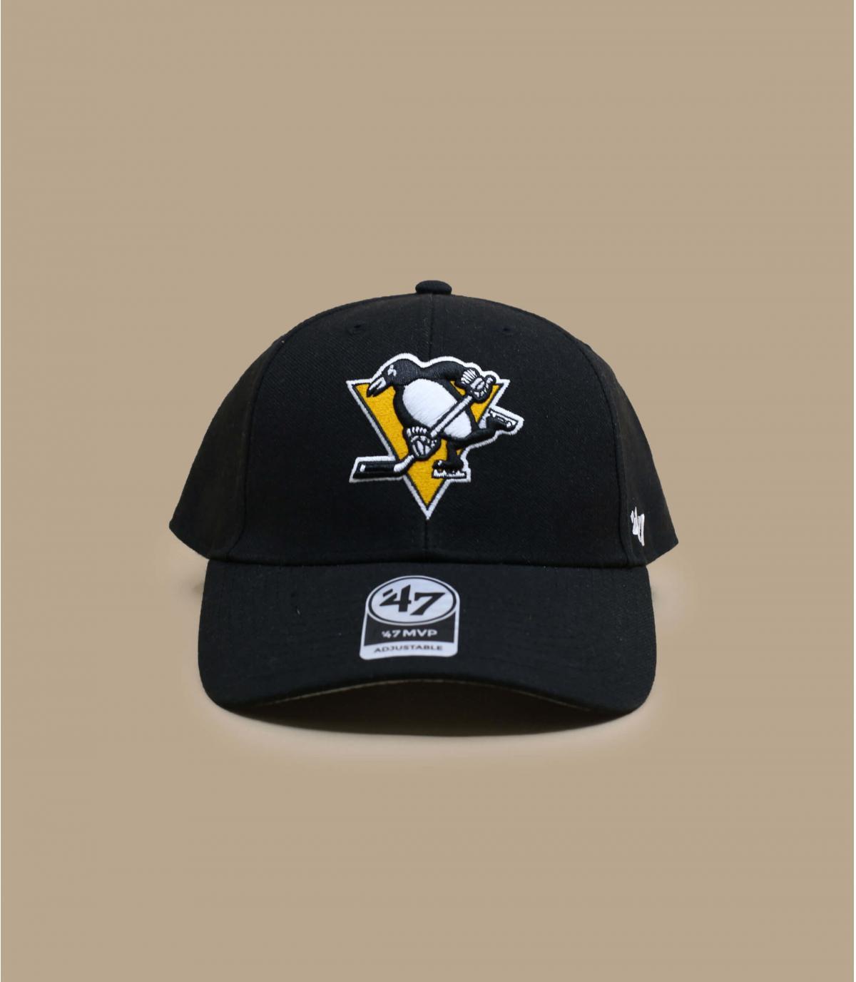 casquette Penguins noir