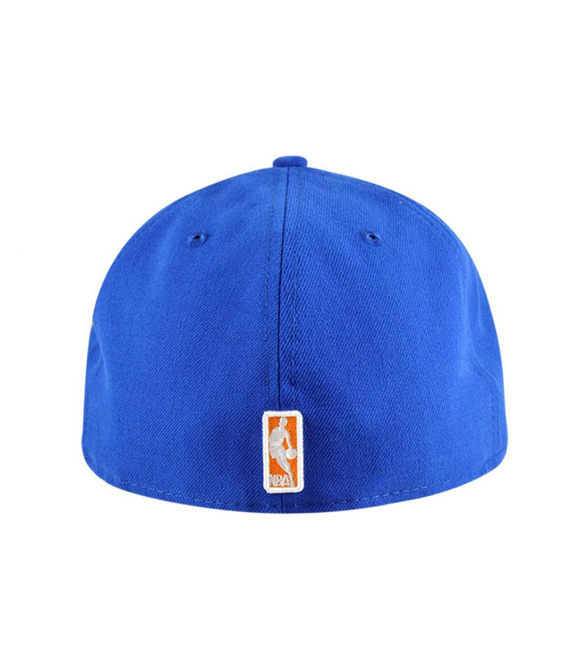 Détails Casquette Knicks 59fifty bleue - image 3