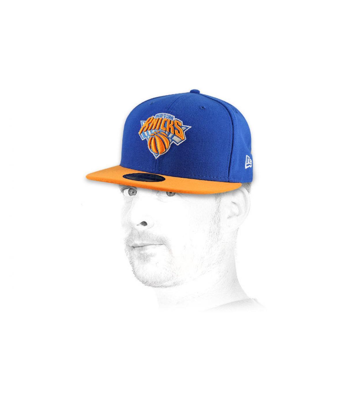 Détails Casquette Knicks 59fifty bleue - image 4
