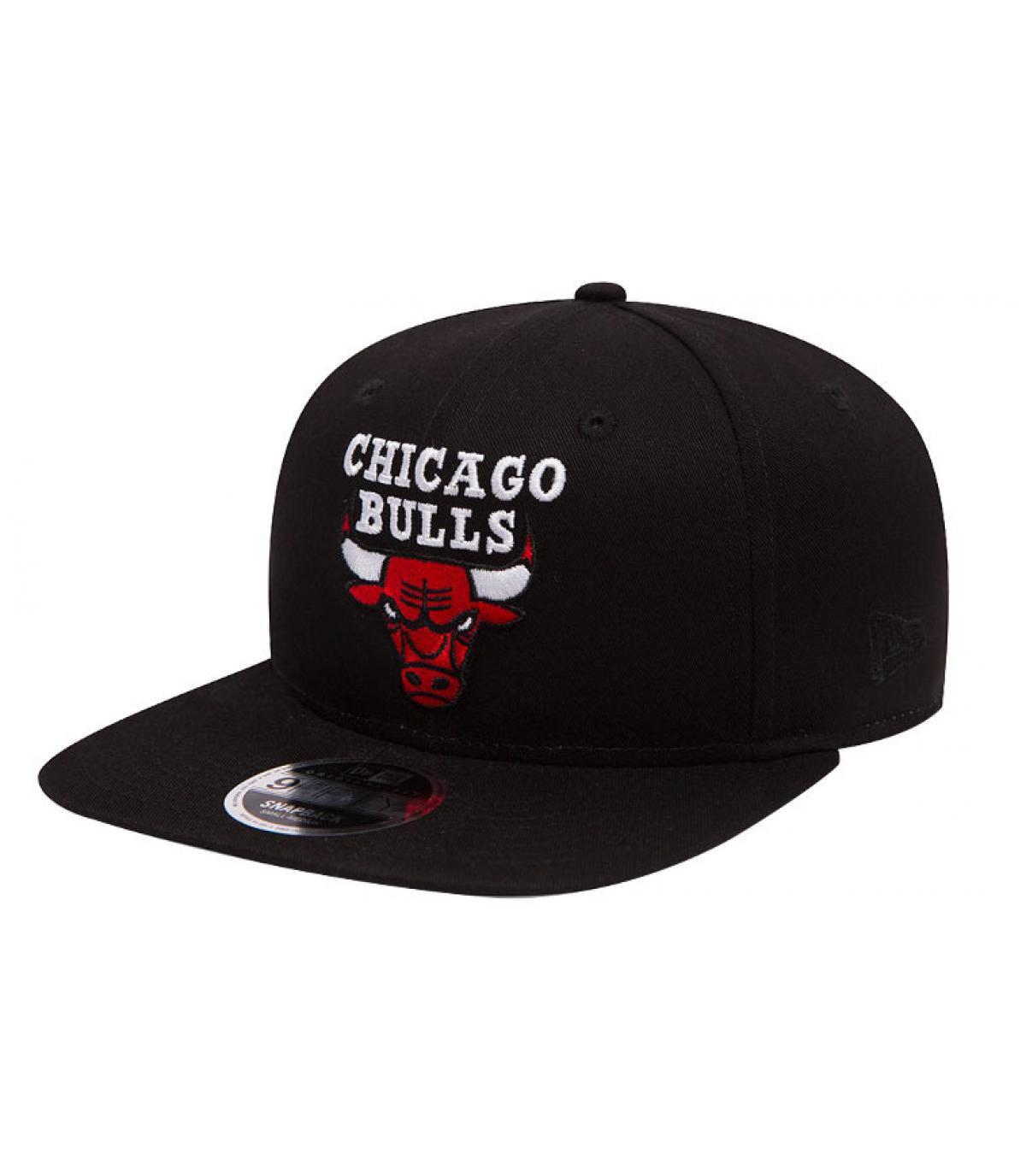 snapback Bulls noir