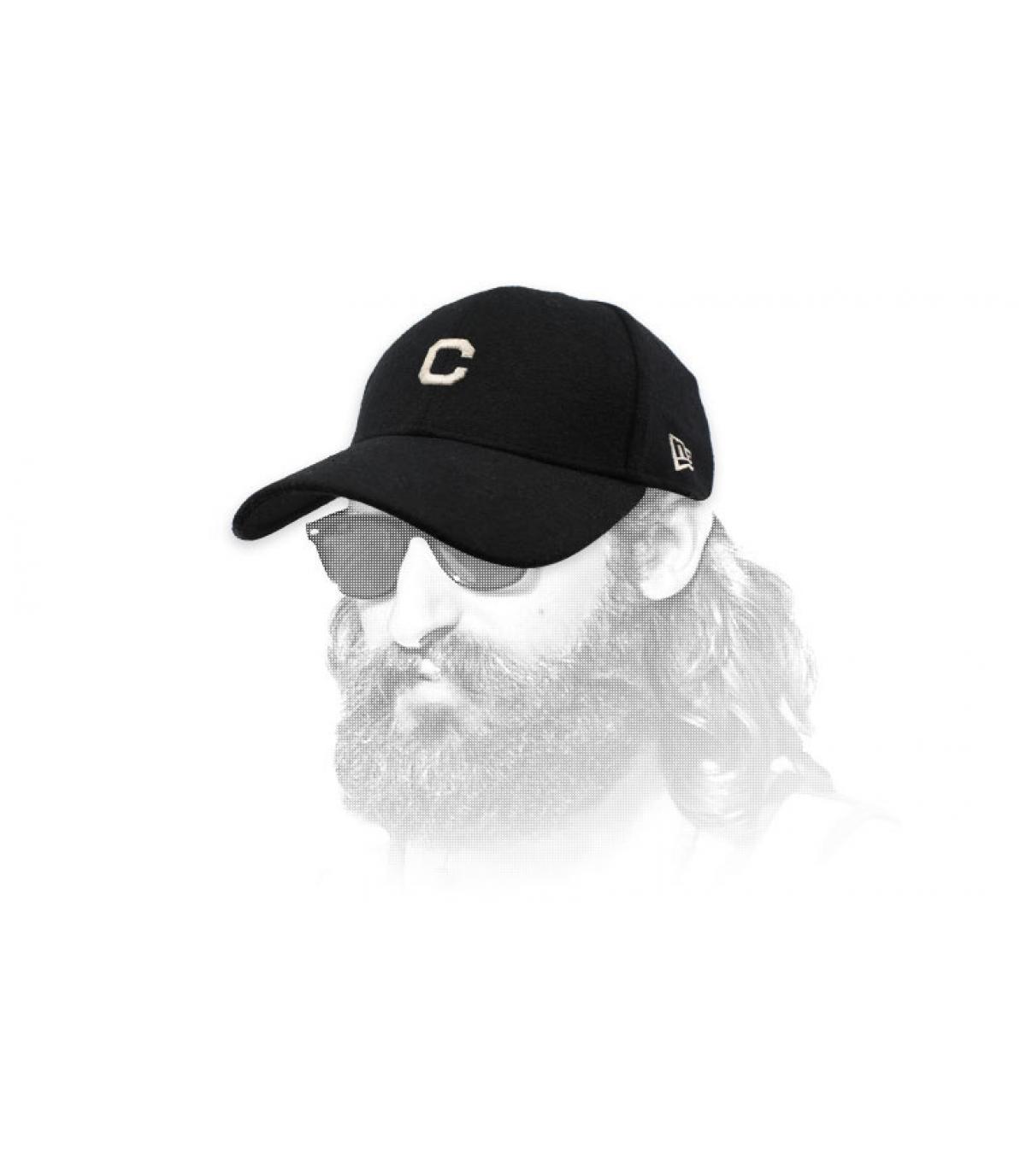 casquette C noir