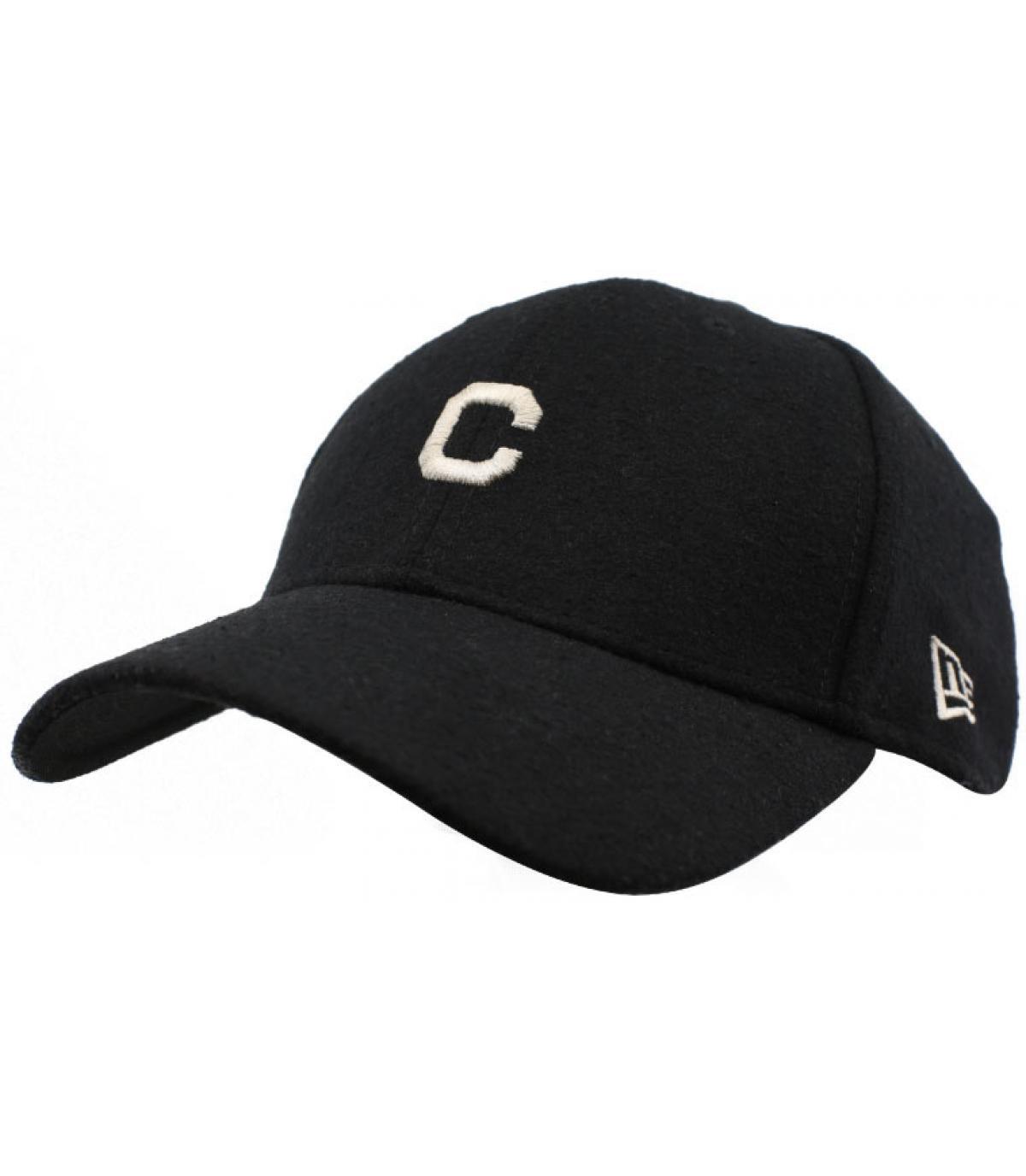 Détails Casquette Mini MLB Melton 940 Indians black - image 2