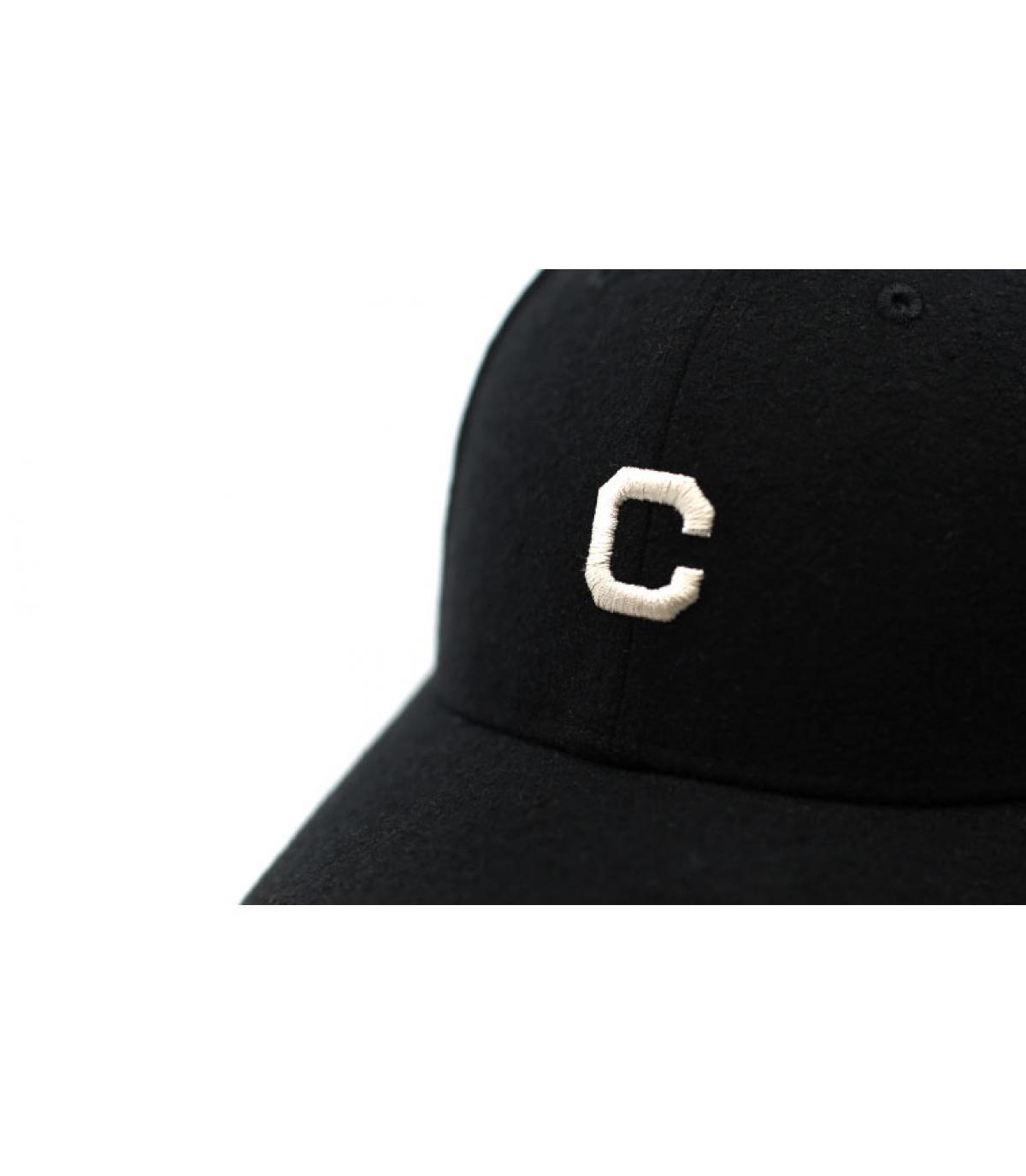 Détails Casquette Mini MLB Melton 940 Indians black - image 3