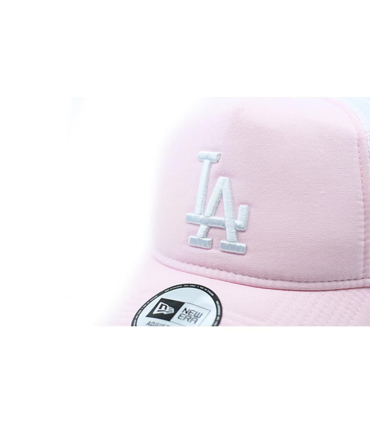 Détails Trucker MLB Oxford LA pink - image 3