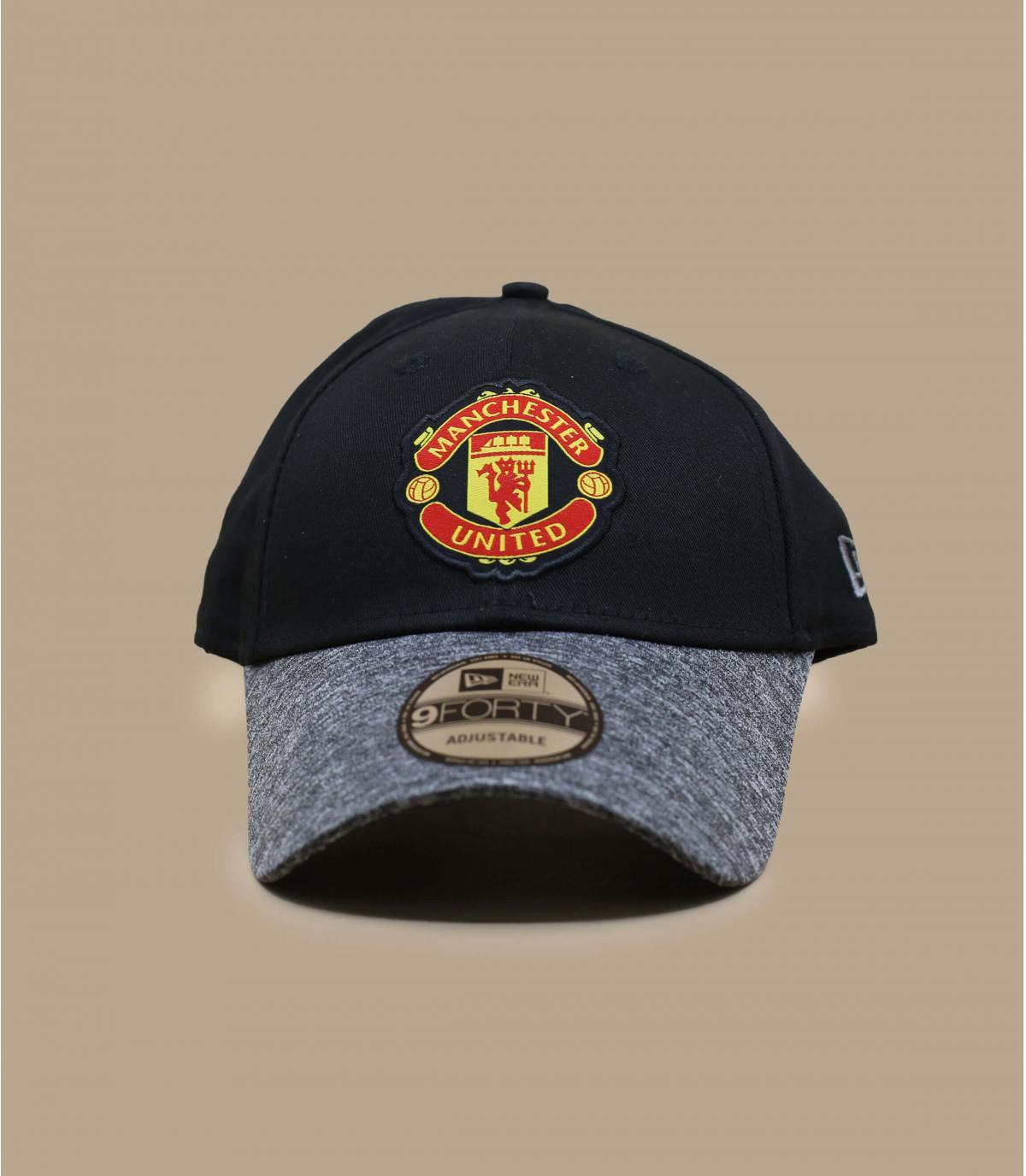 casquette Manchester noir gris