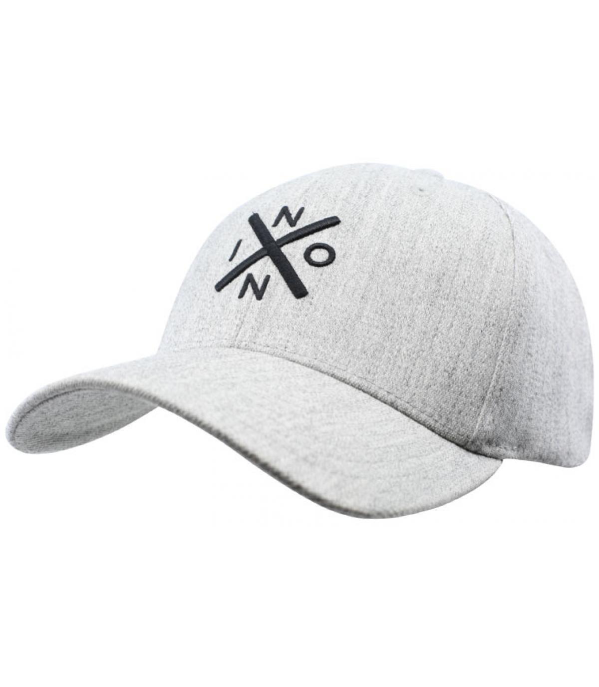 casquette gris clair Nixon