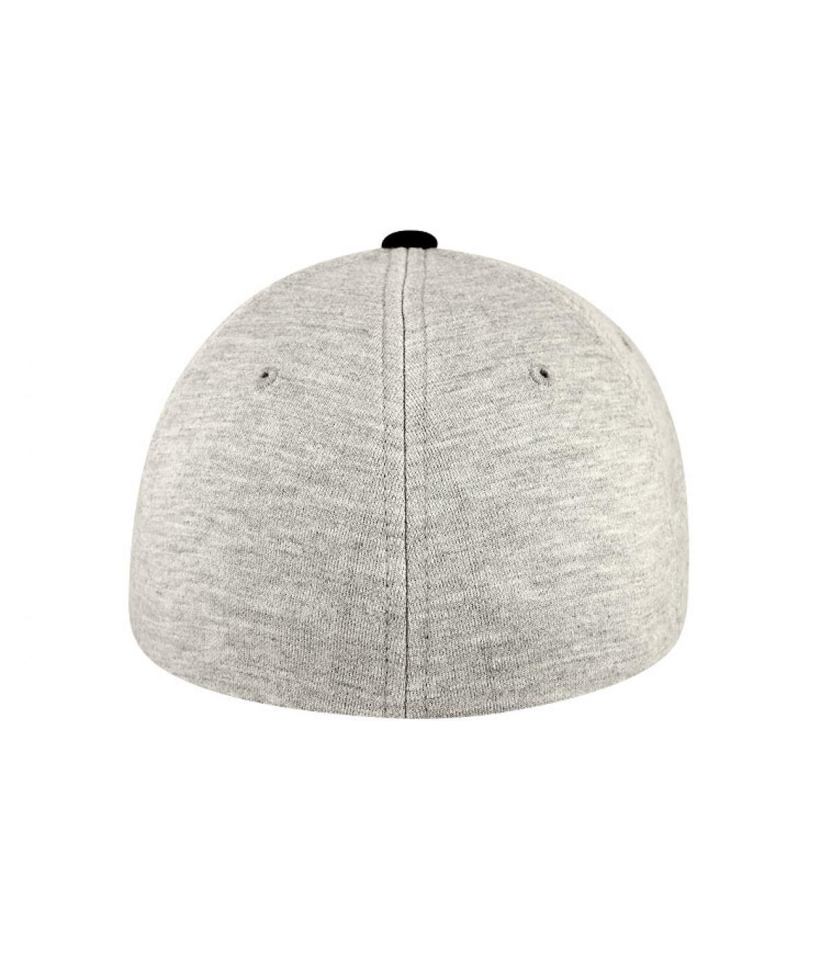 Détails Casquette jersey gris noir - image 4