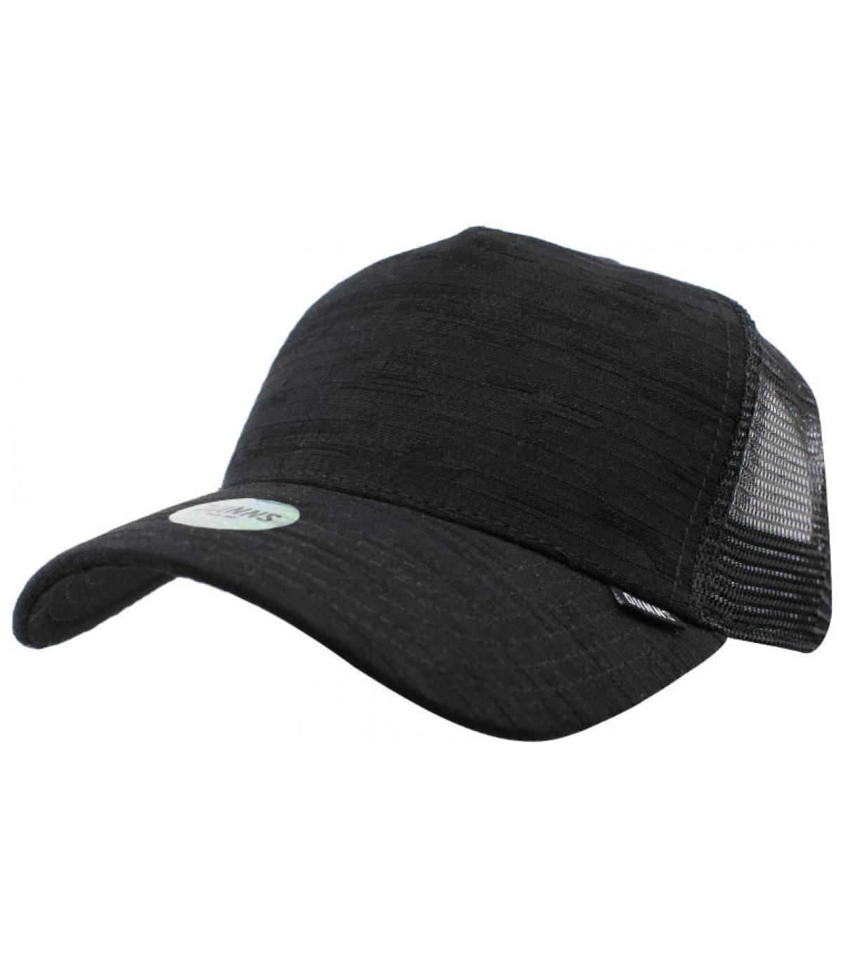 trucker seersucker noir