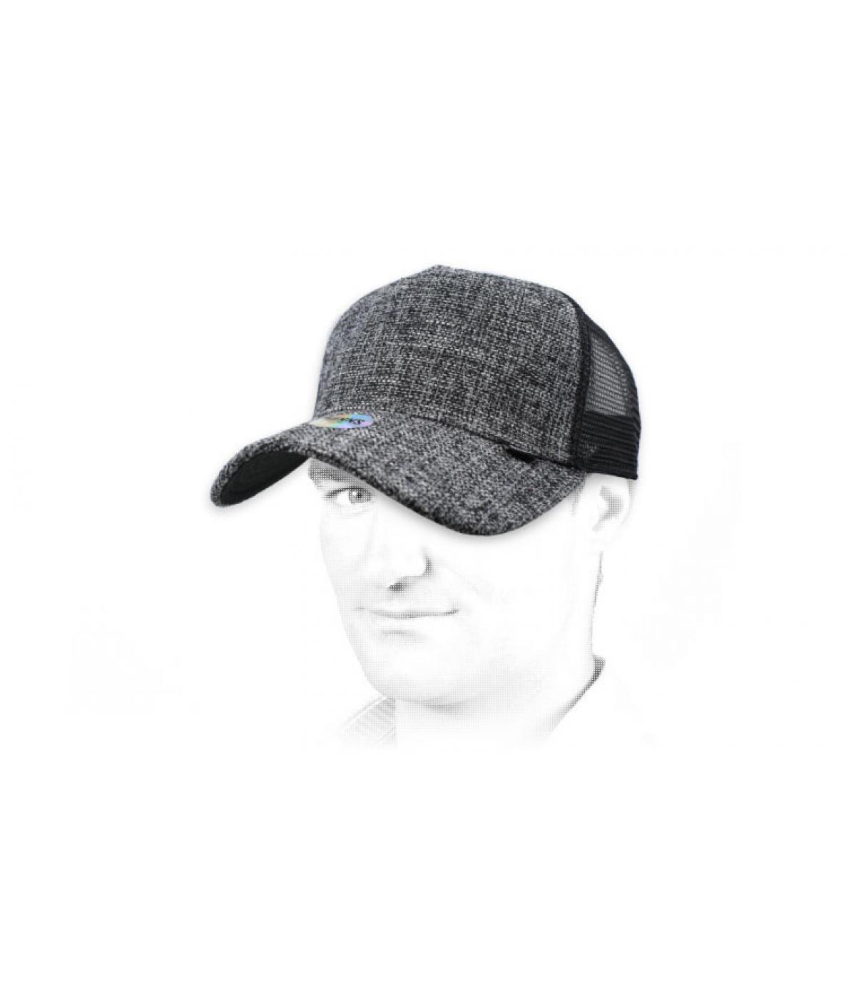 trucker lin noir