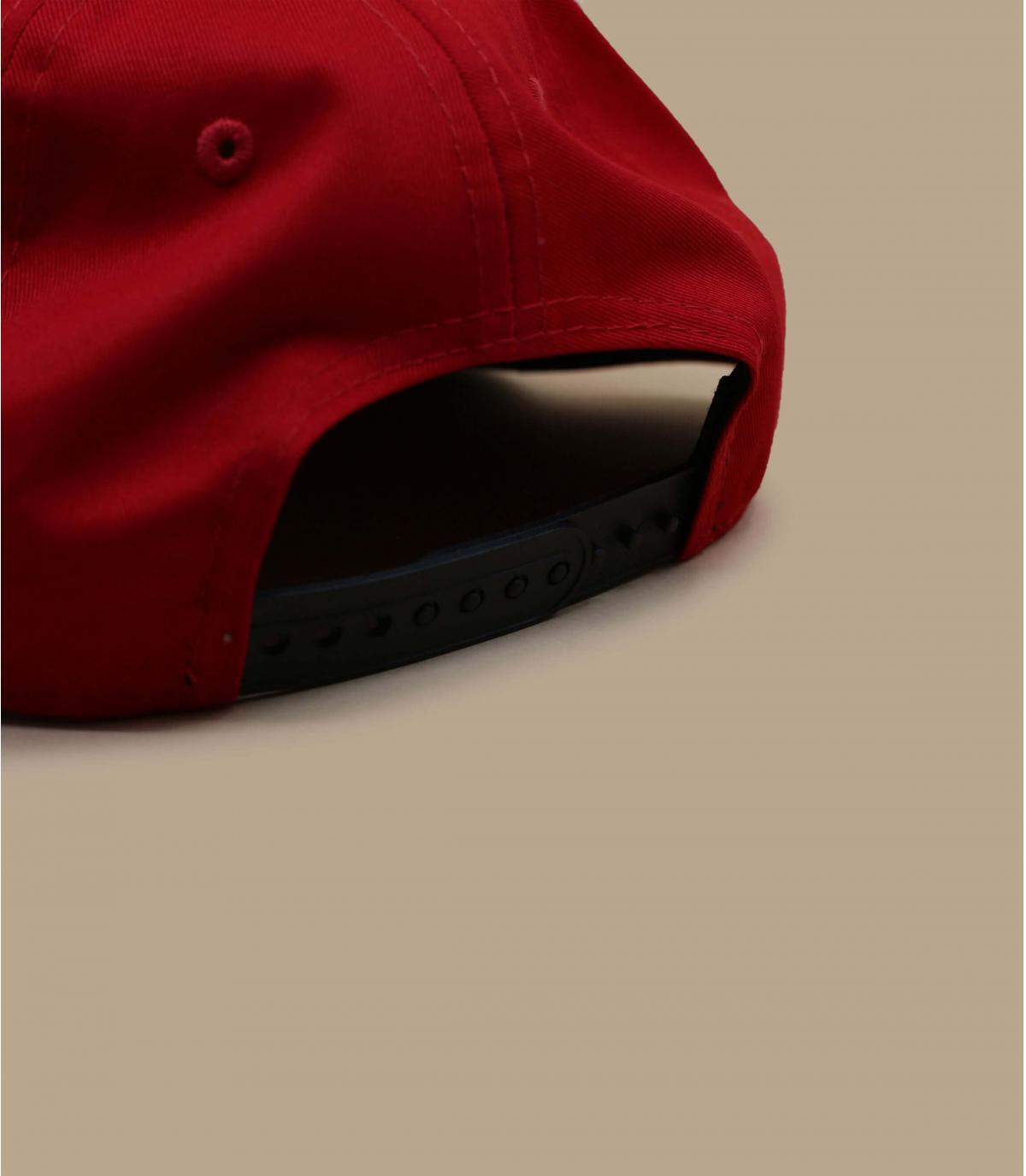 Détails Snapback NY rouge noire - image 4