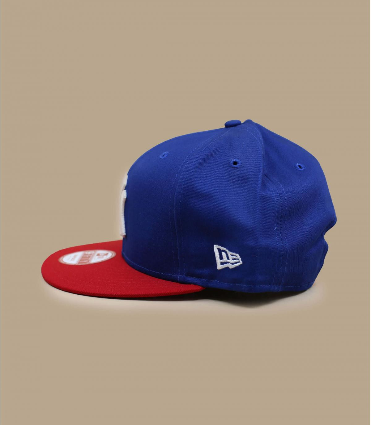 Détails Snapback NY bleue rouge - image 3