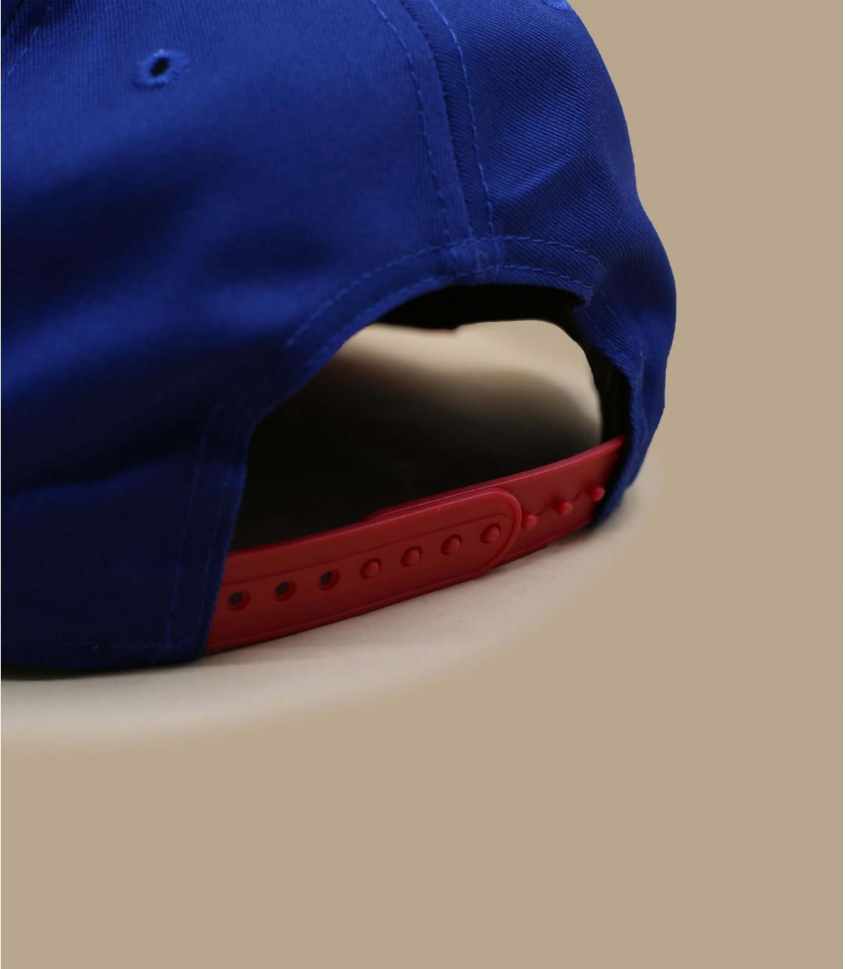 Détails Snapback NY bleue rouge - image 4