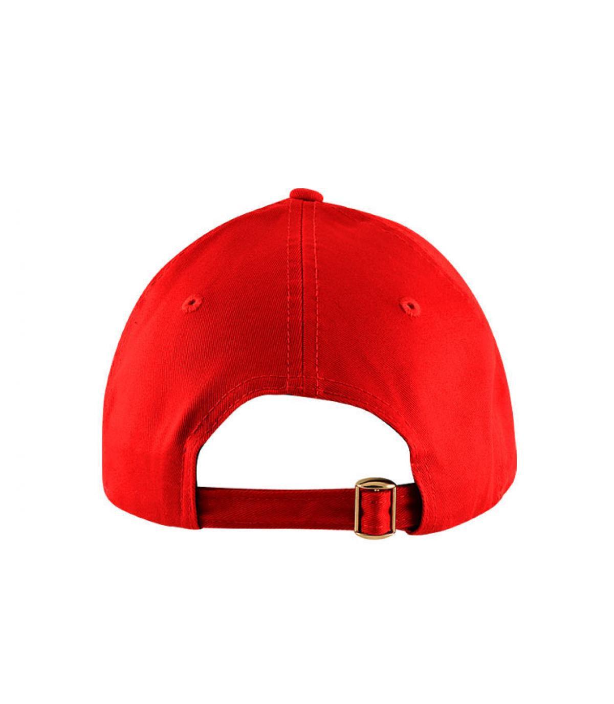 Détails Casquette NY 9forty rouge enfant - image 3