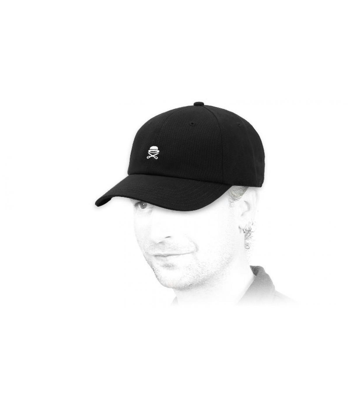 casquette Cayler logo noir