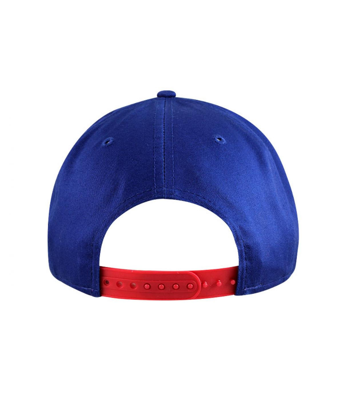 Détails Snapback ny bleue rouge enfant - image 3