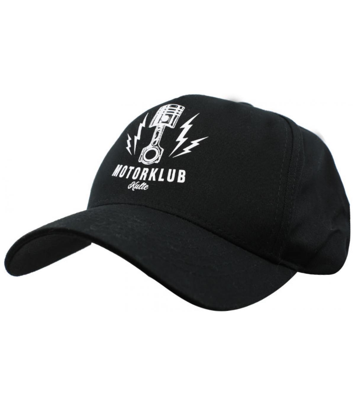 snapback Motorklub noir