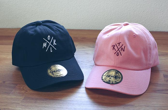 exemple logo casquette