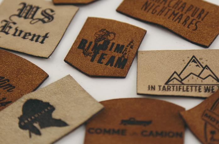 patchs cuir personnalisés