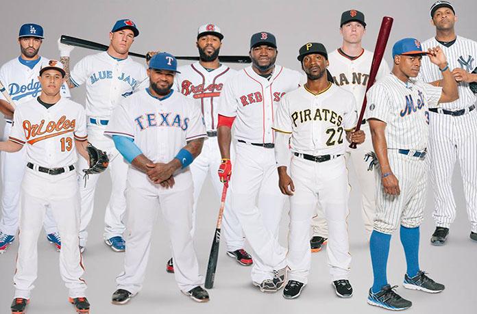 joueurs baseball americains