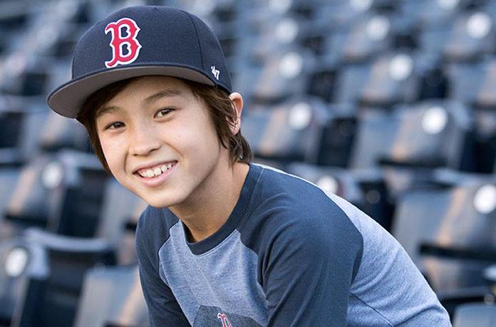 casquette boston enfant