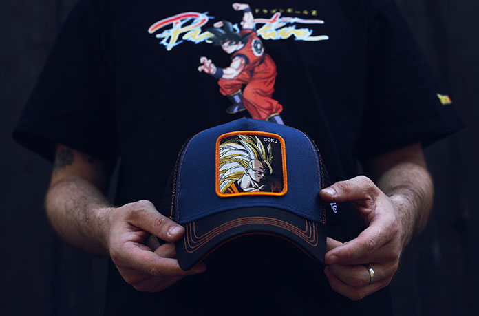casquette San Goku noir