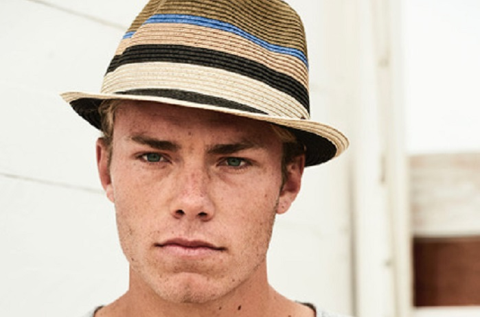 trilby paille Barts