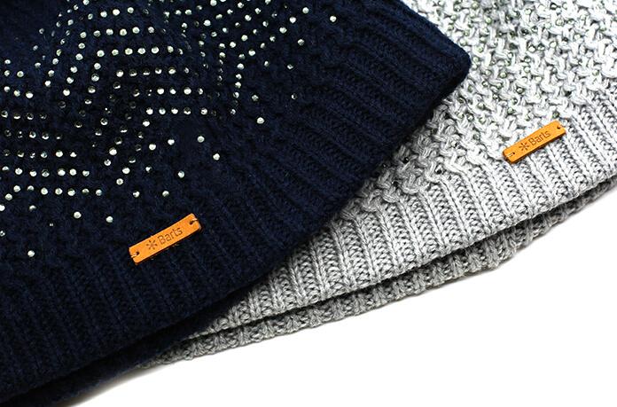 bonnet paillettes bleu