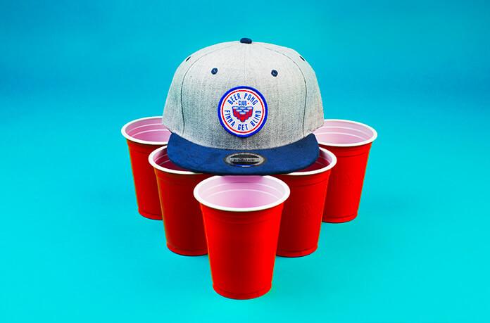 snapback Beer pong
