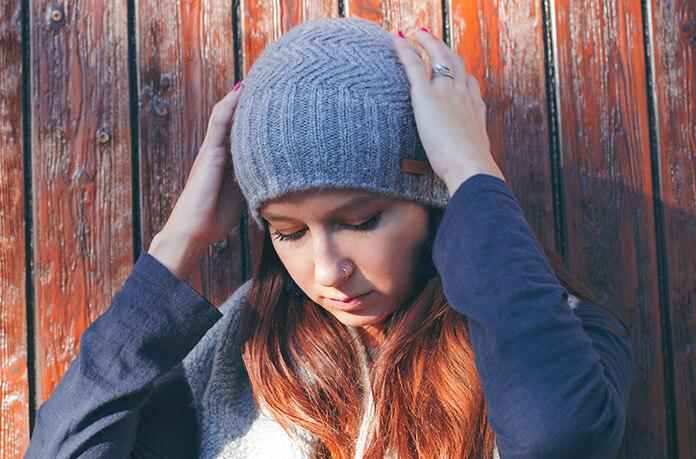 bonnet gris femme Barts
