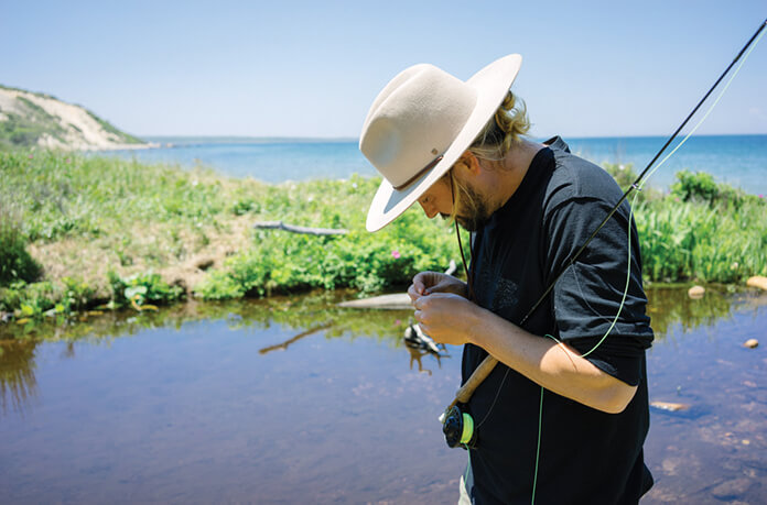 Chapeau pêche
